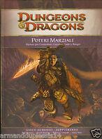 D&d - Dungeons & Dragons Ed 4.0: Poteri Marziali - Opzioni Condottieri Guerrieri -  - ebay.it