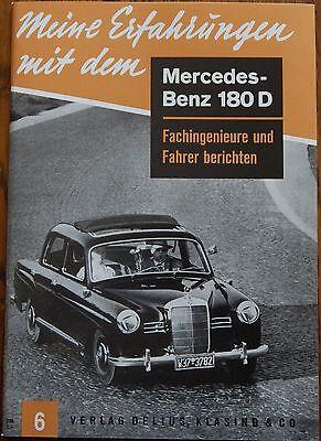 Meine Erfahrungen mit dem Mercedes-Benz 180 D Ponton W120 W121