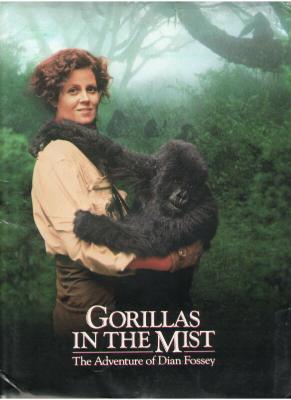 GORILLAS IN THE MIST PRESS KIT SIGOURNEY WEAVER BRYAN BROWN DIAN FOSSEY RWANDA