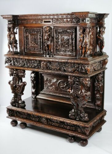A Rare And Magnificent Renaissance Dressoir.
