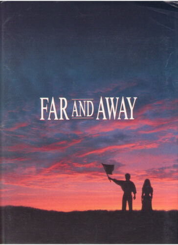FAR AND AWAY PRESS KIT TOM CRUISE NICOLE KIDMAN ROBERT PROSKY BABCOCK RON HOWARD