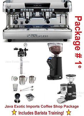 Simonelli Aurelia Automatic Espresso Machine Coffee Shop Pkg Training Install