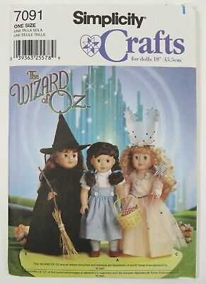 Simplicity 7091 Wizard of Oz 18