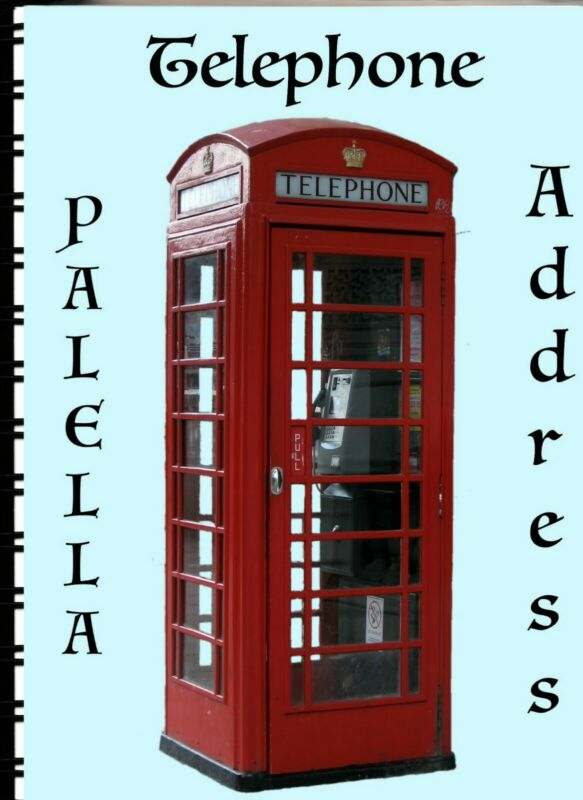 Address Book with Web page British Phone Booth
