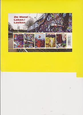 "BELGIUM  BL 188 ** DE WAND  LAKEN-LAEKEN  2011  5 waarden ""1"" EUROPA"