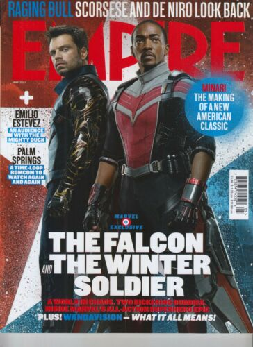 THE FALCON AND THE WINTER SOLDIER EMPIRE MAGAZINE MAY 2021 ISSUE #387