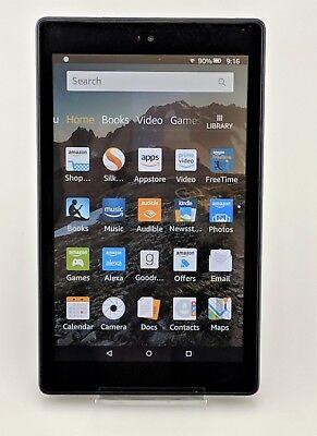 Amazon Kindle Fire HD8 Kids Edition 7th Generation 32GB Black Good Shape (Amazon Amazon Kindle Kids)
