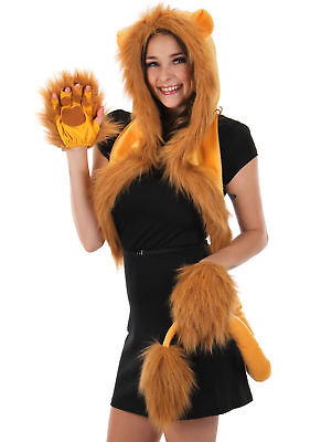 Full Lion Costume Bundle for Adults & - Lion Costume For Adults