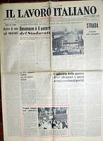 Il Lavoro Italiano N°35 / 30/set/1961 Periodico Sindacalista -  - ebay.it