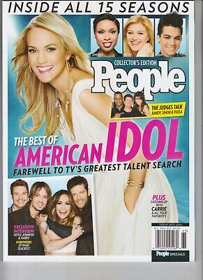BEST OF AMERICAN IDOL PEOPLE MAGAZINE 2016 CARRIE