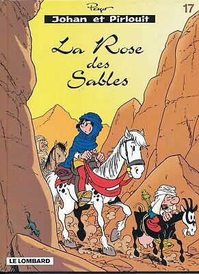 La Rose des Sables Peyo Johan et Pirlouit Le Lombard 2001