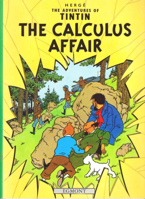 The Adventures of Tintin: The Calculus Affair by Herge (Paperback, 2002 Egmont)