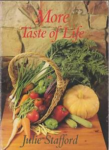 MORE TASTE OF LIFE Julie Stafford ~ 1st Ed SC 1985 Photos Perth Region Preview