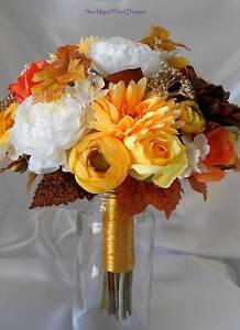 Bridal Bouquet Autumn colours Ellenbrook Swan Area Preview