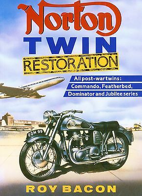 Norton Twin Restoration Roy Bacon 7 77 88 99 650SS Dominator New Motorcycle Book