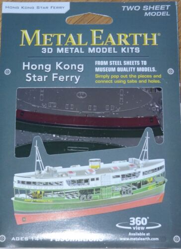 Hong Kong Star Ferry Metal Earth 3D Laser Cut Metal Model MMS135 Fascinations