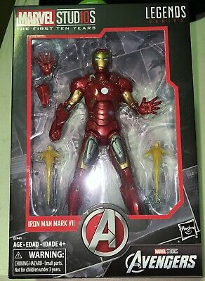 Marvel Legends: First Ten Years - Iron Man Mark VII MCU Iron Man