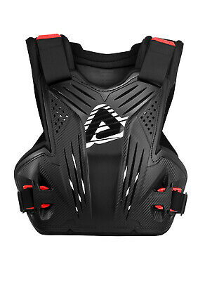 New Adult Impact MX Roost Deflector Black Body Armour Motocross Neck Brace Comp