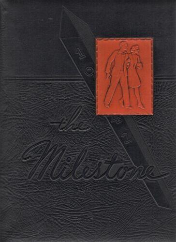 "1942 ""Milestone"" - Hope College Yearbook - Holland, Michigan +"