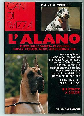 SALMOIRAGHI MARINA L'ALANO DE VECCHI 1993 CANI DI RAZZA CINOFILIA ALLEVAMENTO