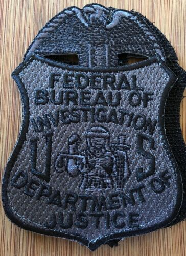 FBI Special Edition - black/gray version + hook Genuine *Kokopelli Patch*