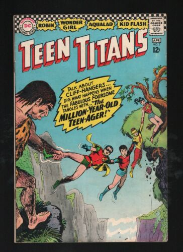 TEEN TITANS 2           GREAT NICK CARDY COVER!               LOW PRICE!
