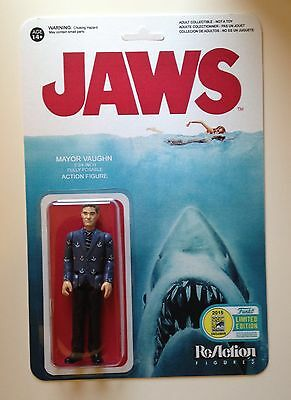 Custom Made Jaws Reaction Mayor Vaughn 3 3 4 Action Figure