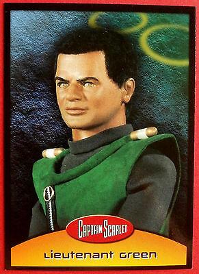 CAPTAIN SCARLET - Card #21 - Lieutenant Green - Cards Inc 2001