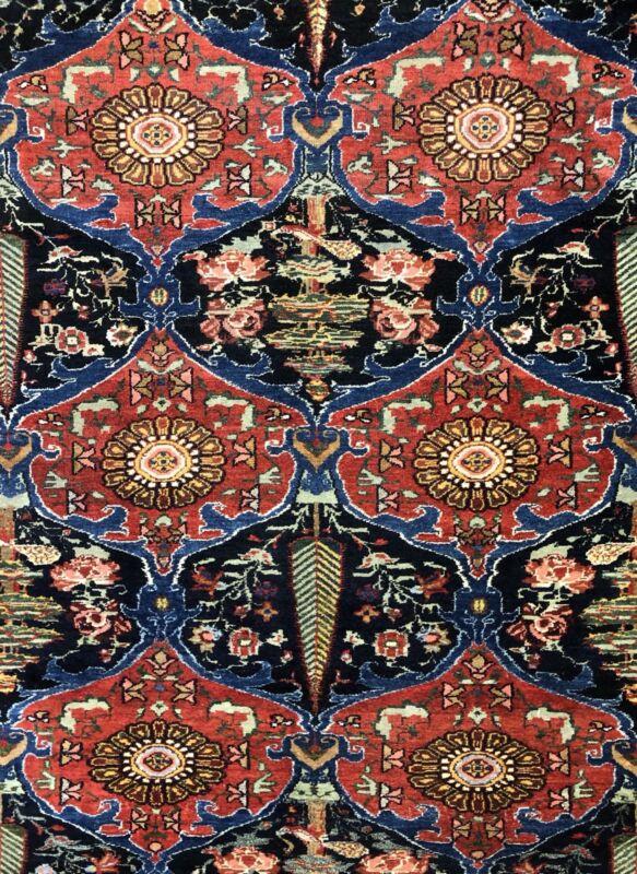 Tremendous Tribal - 1900s Antique Armenian Rug - Oriental Carpet - 6.6 X 9 Ft.