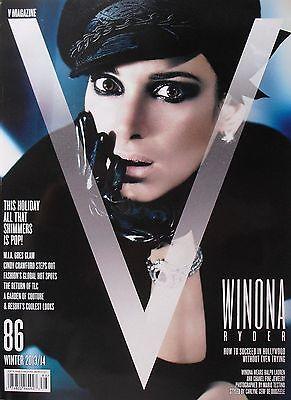 Winona Ryder Winter 2013 V Magazine  86 Cindy Crawford  M I A  Goes Glam   New