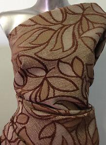 tissu ameublement jacquard motif velour 450 gr m2 haut de gamme tm3 ebay. Black Bedroom Furniture Sets. Home Design Ideas