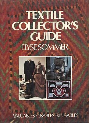 Care of Collectible Textile Clothing Fabric / Scarce Book