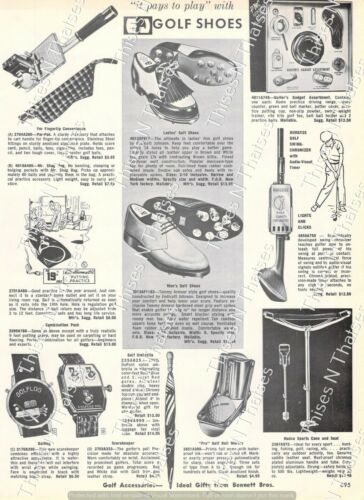 1964 Vintage Ad Nadco Ajay Roll King Golf Carts Endicott Johnson Shoes Decor