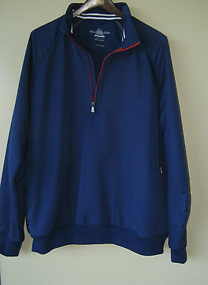 (Brooks Brothers Country Club PROSPORT 1/2 Zip Pullover Jacket - Large)
