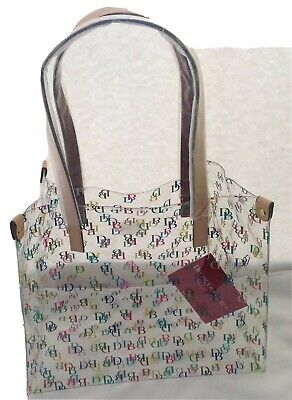 Dooney Bourke Clear IT Medium Shopper Bag Purse Tote Handbag  NWT