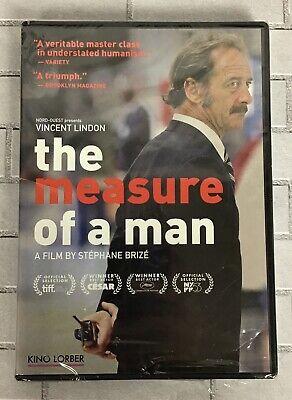 The Measure of a Man DVD Movie 2016 Best Actor Cesar Cannes Film Festival (The Best Man Actors)