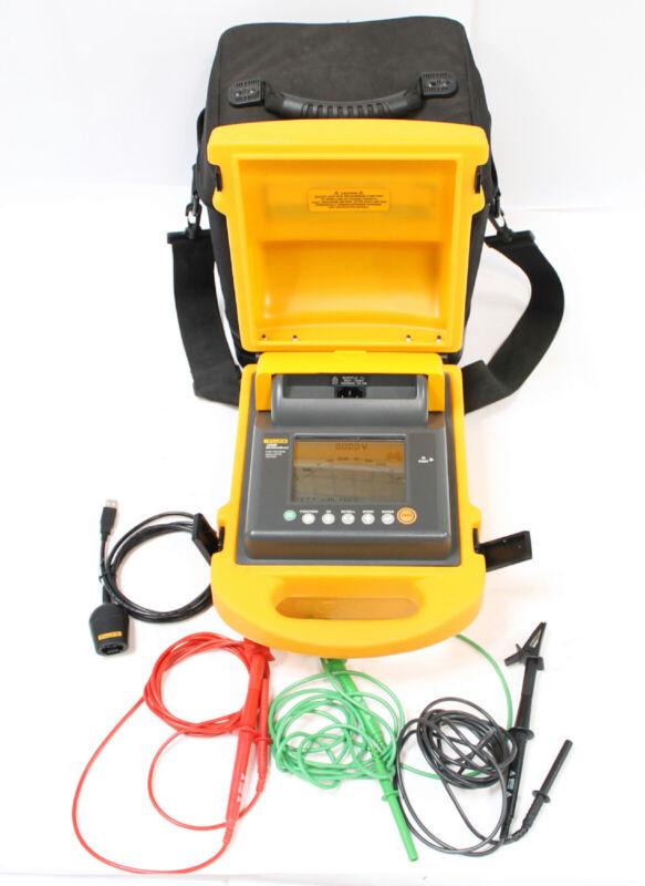 Fluke 1550B 5kV Insulation Tester MegOhmMeter with New Battery
