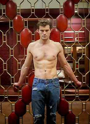 Unofficial JAMIE DORNAN 13 *Glossy A4 print Poster - Fifty Shades Christian Grey