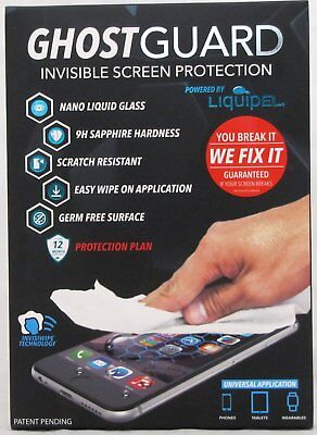 Ghost Guard Invisible Glass Screen Protection Protector iPhone Tablets Universal Invisible Screen Protector Guard