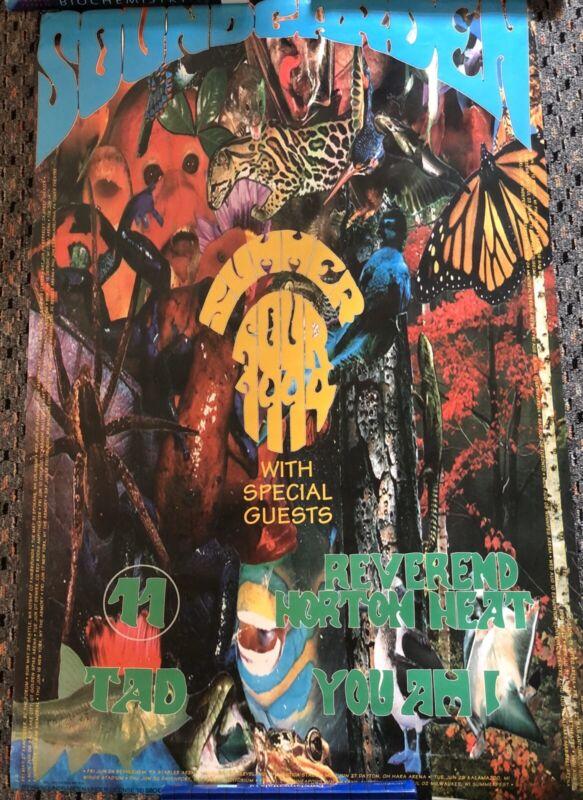 SOUNDGARDEN SUMMER TOUR 1994 POSTER Chris Cornell Reverend Horton Heat Vintage