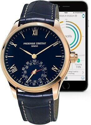 Frederique Constant Horological Smart Watch Men's Quartz 42mm Watch FC-285N5B4