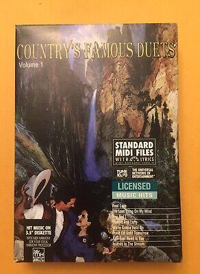 STANDARD MIDI FILES WITH LYRICS - Country's Famous Duets (Midi Files Lyrics)
