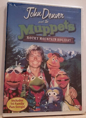 John Denver And The Muppets   A Rocky Mountain Holiday  Dvd  2003