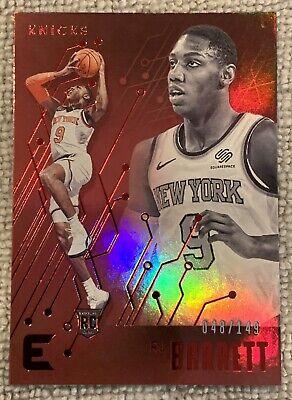 2019-20 Chronicle RJ Barrett RC Essentials Red - Short Print #/149 - Knicks