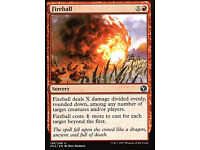 Iconic Masters MTG Feuerball 2x Fireball