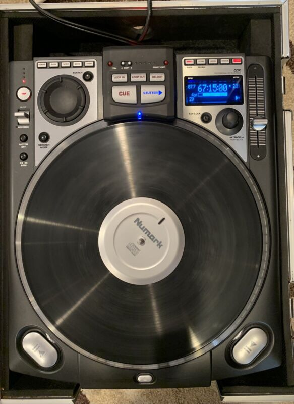 Numark CDX professional CD Turntable (Unit 1 of 2)-Good Working Condition W/case