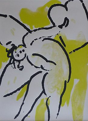 "MARC CHAGALL BIBLE ""The Bible"" HAND NUMBERED LITHOGRAPH M118"