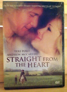 Straight From the Heart (DVD, 2007) R1, NTSC / RARE / FACTORY SEALED