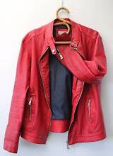 Red Leather Jacket Hillwood George Town Area Preview