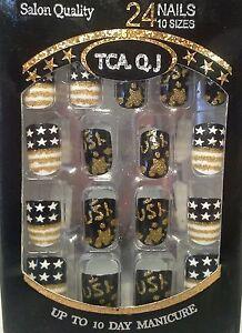 NEW Patriotic Fake Nails